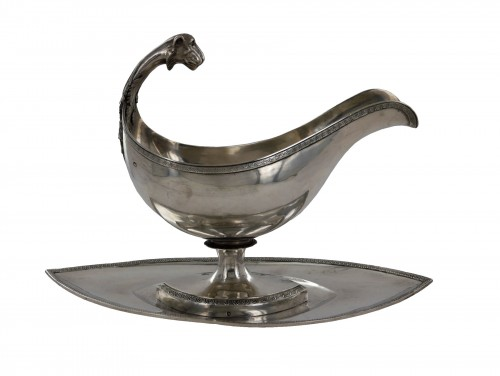 An Empire Sauceboat, early 19th century