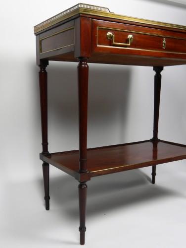 Furniture  - A Louis XVI mahogany console, 18th century