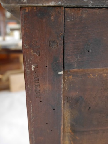 Antiquités - Small chest of drawers stamped L. Aubry