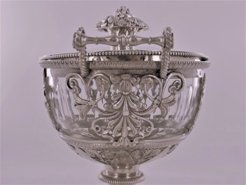 An Empire silver drageoir, beginning of the 19th century -