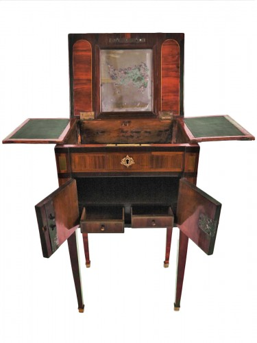 A Louis XVI small working table by Nicolas Petit