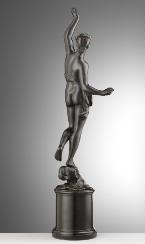 A bronze of a standing female nude - Sculpture Style Louis XIII