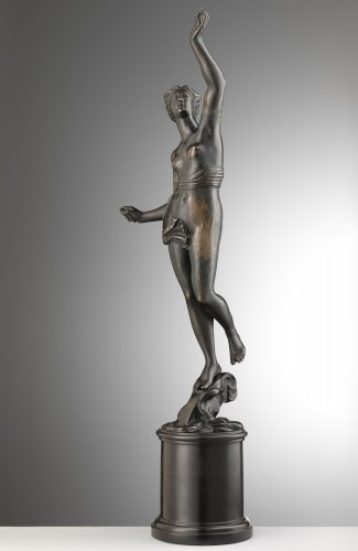 Sculpture  - A bronze of a standing female nude