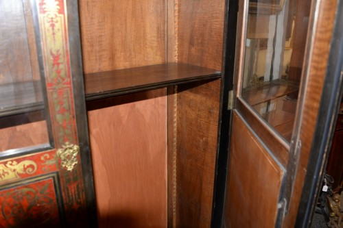 Cabinet en marqueterie Boulle -