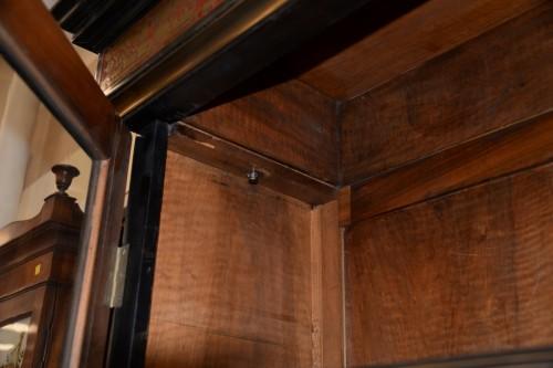 Antiquités - Cabinet en marqueterie Boulle