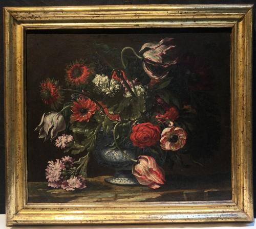 Pair of Still lifes - Paintings & Drawings Style Louis XVI