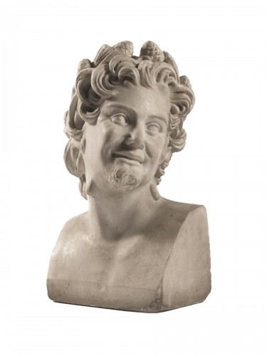 Marble sculpture of Satyr