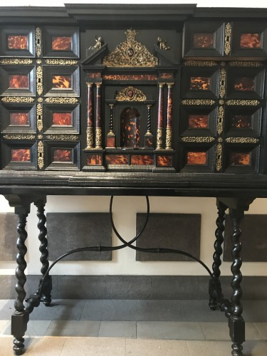 Pair of ormolu-mounted tortoiseshell cabinets - Furniture Style