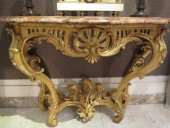 French console eighteenth century