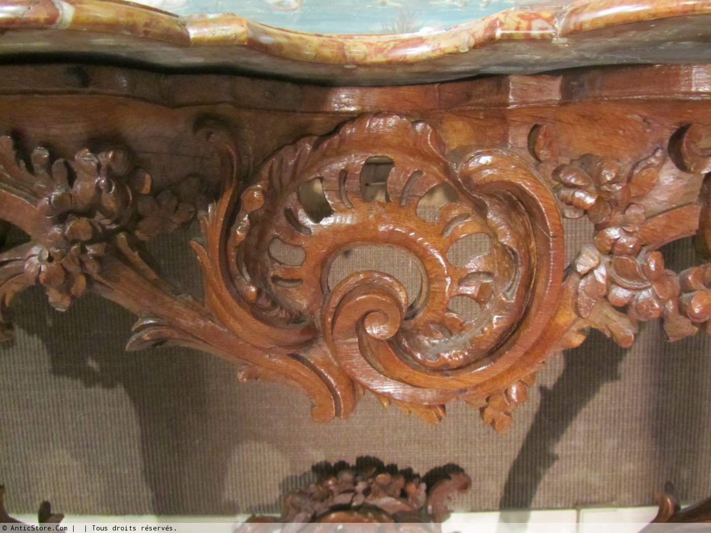 A louis xv console table ref28714 a louis xv console table furniture style louis xv geotapseo Images