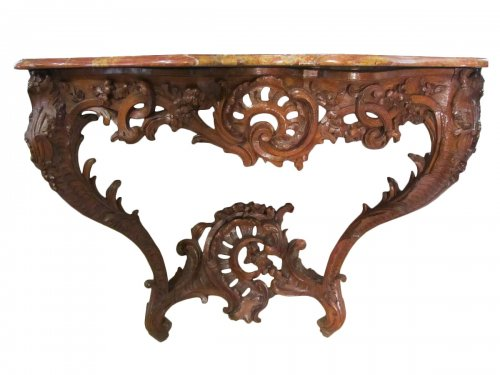 A Louis XV console table