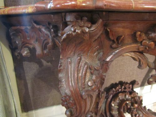 Furniture  - A Louis XV console table