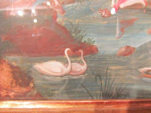 Louis XIV - Gouache diane bath