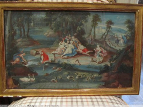 Antiquités - Gouache diane bath