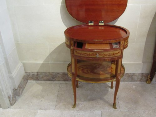 Furniture  - A late Louis XV period side table