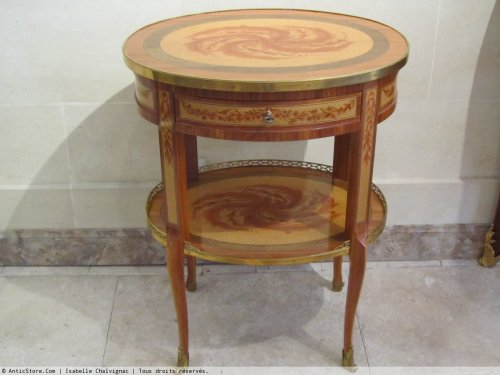 A late Louis XV period side table - Louis XV