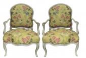 """Pair of wide Louis XV armchairs said """"à la Reine"""""""