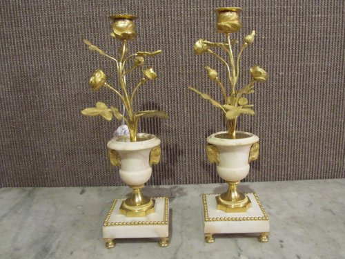 Pair of Louis XVI candelsticks