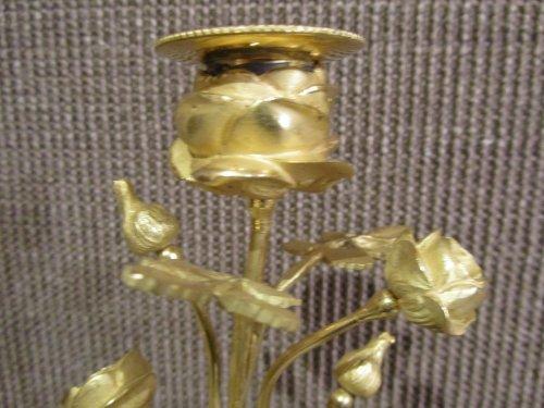 Pair of Louis XVI candelsticks -