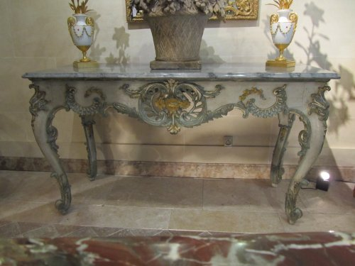 A regence console table