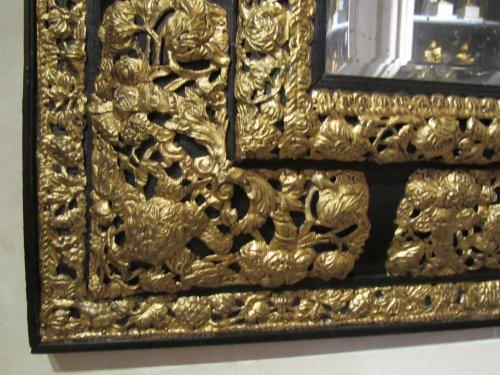 Mirrors, Trumeau  - A Louis XIV pair of mirrors
