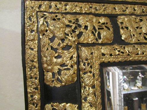 A Louis XIV pair of mirrors  - Louis XIV