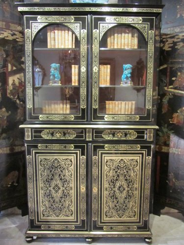 A louis xiv Boulle marquetry book case