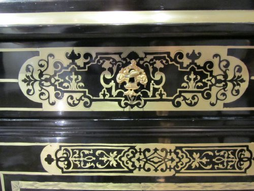 Furniture  - A louis xiv Boulle marquetry book case