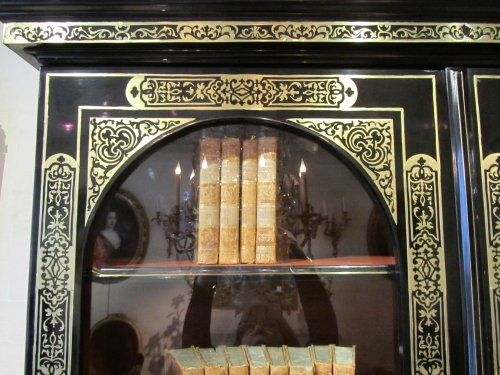 A louis xiv Boulle marquetry book case -