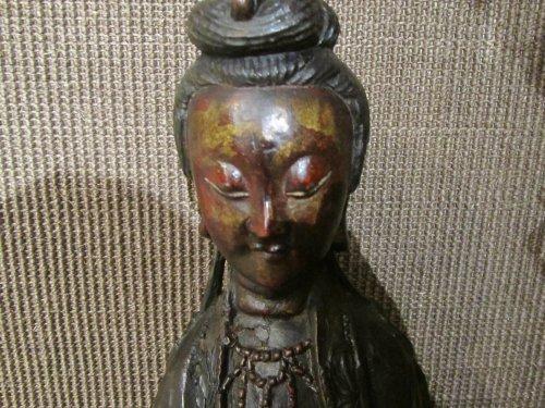 Asian Art & Antiques  - Guanyin Chine , Ming Dynasty