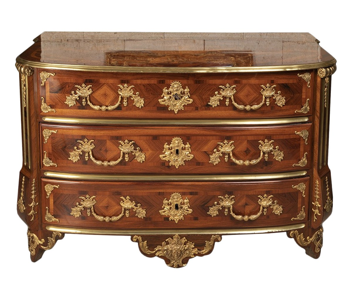 a louis xiv commode by thomas hache. Black Bedroom Furniture Sets. Home Design Ideas