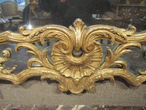 """Antiquités - A Regence mirror """"aux Espagnolettes """""""