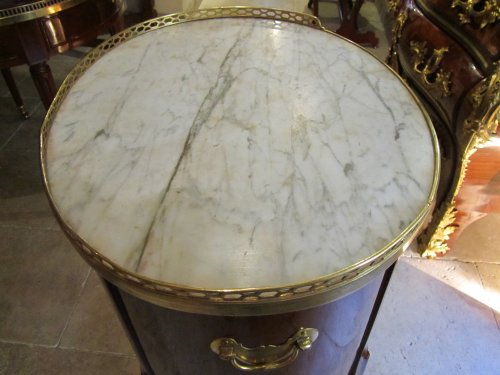 A Transitional Louis XV- Louis XVI table stamped J-F LELEU -