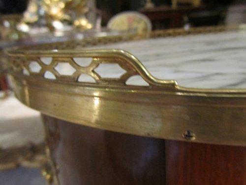 A Transitional Louis XV- Louis XVI table stamped J-F LELEU - Transition