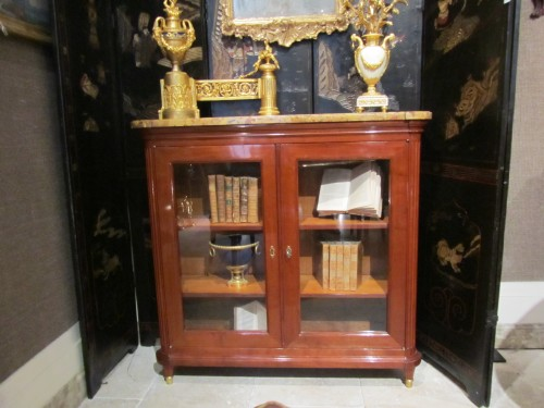 Furniture  - A pair of Louis XVI bookcases stamped Etienne Avril