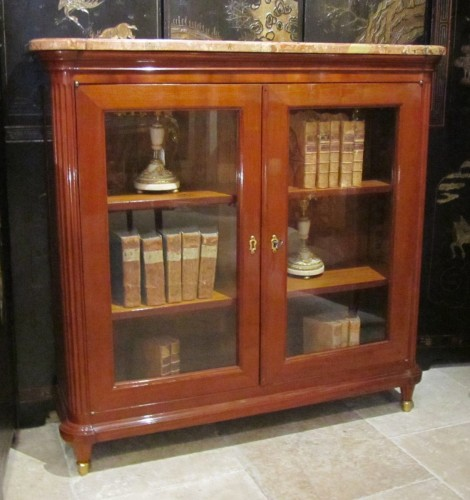 Antiquités - A pair of Louis XVI bookcases stamped Etienne Avril