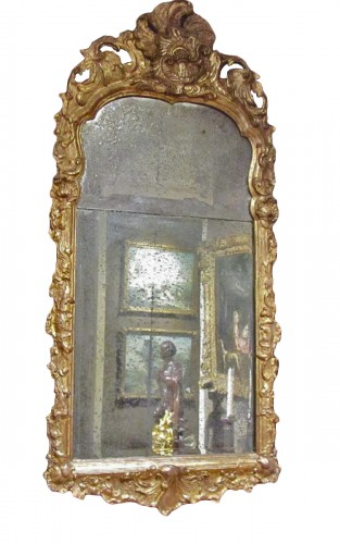 A pair of German Baroque mirrors early 18th century