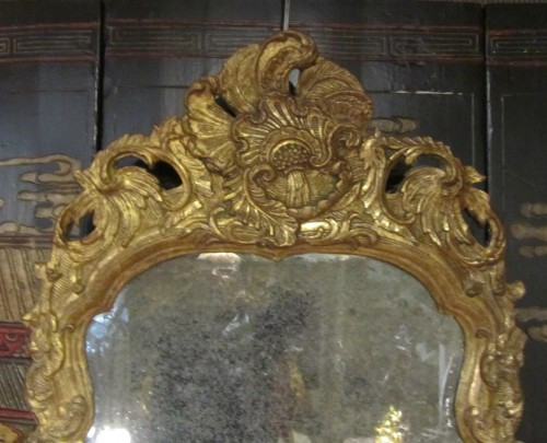 Mirrors, Trumeau  - A pair of German Baroque mirrors early 18th century