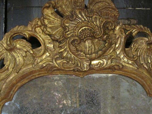18th century - A pair of German Baroque mirrors early 18th century