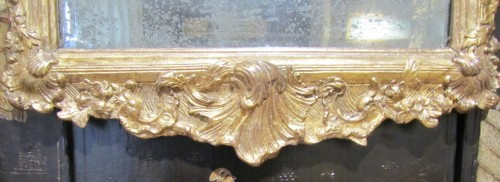 A pair of German Baroque mirrors early 18th century - French Regence