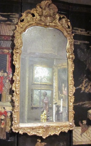 Antiquités - A pair of German Baroque mirrors early 18th century