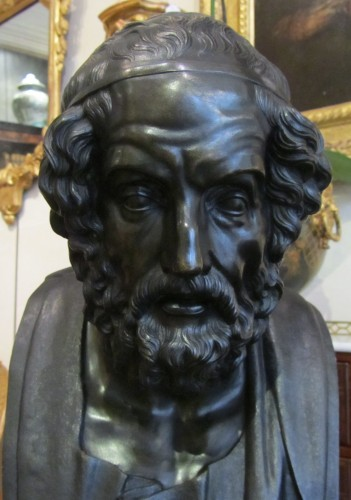 Homère' s bust bronze  - Sculpture Style