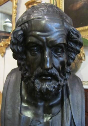 Homère' s bust bronze  -