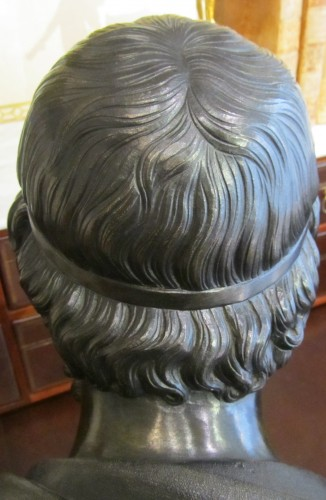 - Homère' s bust bronze