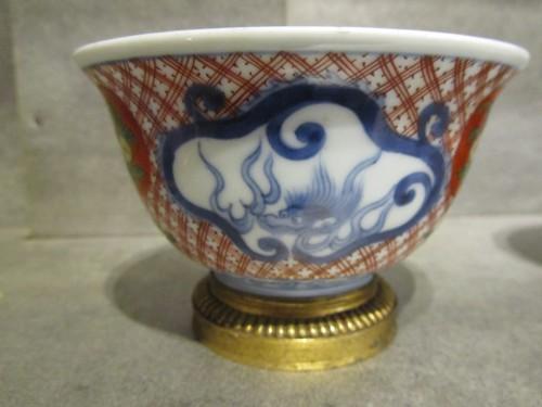 A pair of Régence ormolu-mounted Japanese pots - Decorative Objects Style French Regence
