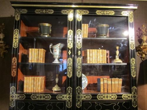 French Louis XIV Boulle Book case - Furniture Style Louis XIV