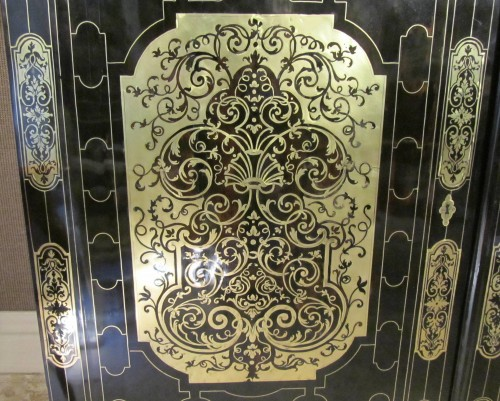 French Louis XIV Boulle Book case -