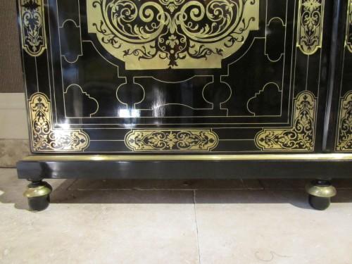 French Louis XIV Boulle Book case - Louis XIV