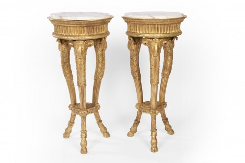 Antiquités - A Pair of Louis XVI Athenian Gardeners