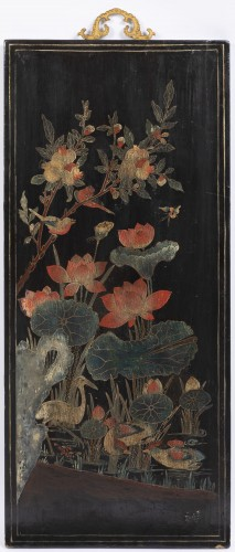 19th century - A set of four Lacquer Panels China